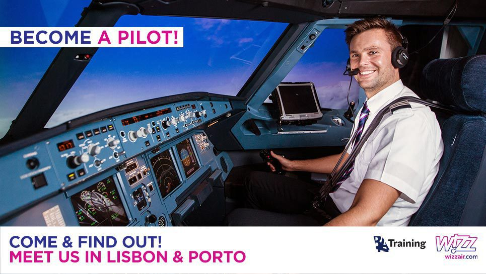 Wizz Air Cadet Program Career Day in Portugal