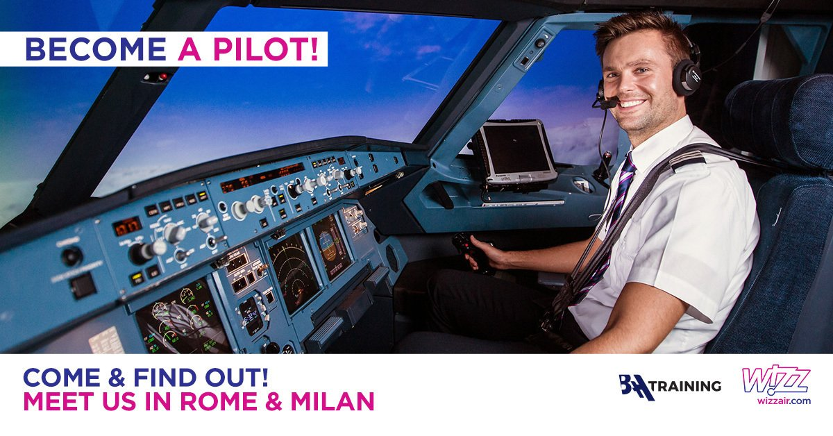 Wizz Air Cadet Program Career Day in Italy